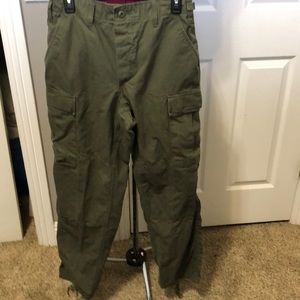 Utility Pants Army Green Size Small
